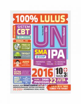 100% LULUS UN SMA IPA 2016