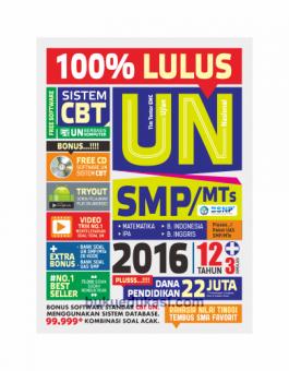 100% LULUS UN SMP/MTS 2016