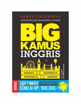 BIG KAMUS INGGRIS – INDONESIA