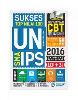 SUKSES TOP NILAI 100 UN SMA IPS 2016
