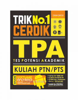 TRIK NO. 1 CERDIK TPA KULIAH PTN/PTS