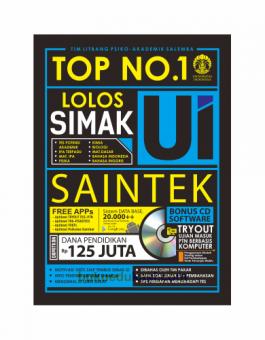TOP NO. 1 LOLOS SIMAK UI SAINTEK