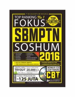 TOP RANKING NO. 1 FOKUS SBMPTN SOSHUM 2016