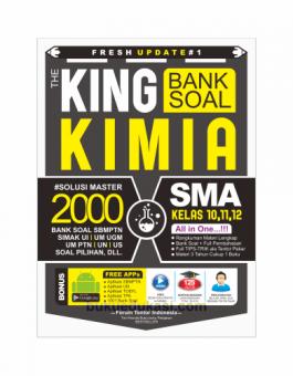 FRESH UPDATE #1 THE KING BANK SOAL KIMIA SMA KELAS 10, 11, 12