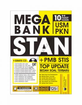 MEGA BANK USM PKN STAN + PMB STIS