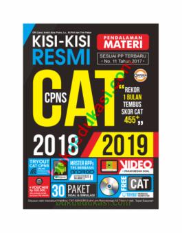 KISI – KISI RESMI PENDALAMAN MATERI CAT CPNS 2018-2019
