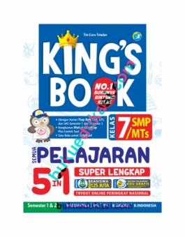 KING'S BOOK SEMUA PELAJARAN 5 IN 1 KELAS 7 SMP/MTS