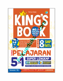 KING'S BOOK SEMUA PELAJARAN 5 IN 1 KELAS 8 SMP/MTS