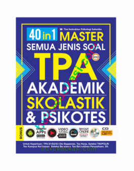 40 in 1 Master Semua Jenis Soal TPA-Akademik Skolastik & Psikotes