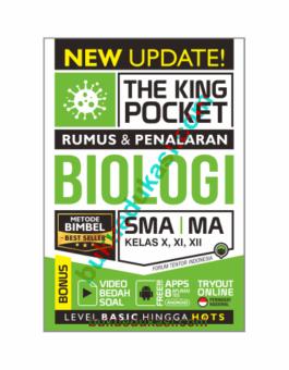 (Pre Order) THE KING POCKET RUMUS DAN PENALARAN BIOLOGI SMA MA KELAS X, XI, XII